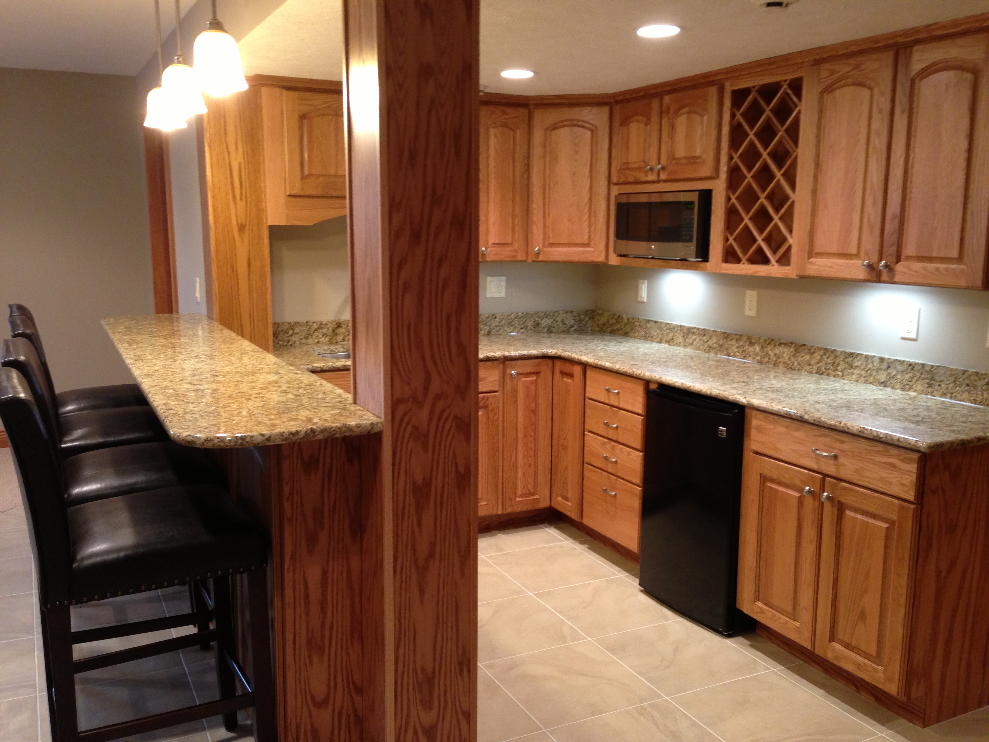 U201cLast Summer, We Asked Vic Brown Of Michigan Valley Homes To Do A Complete  Remodel Of Our Kitchen, Made Even More Complicated Because We Wanted To  Extend ...